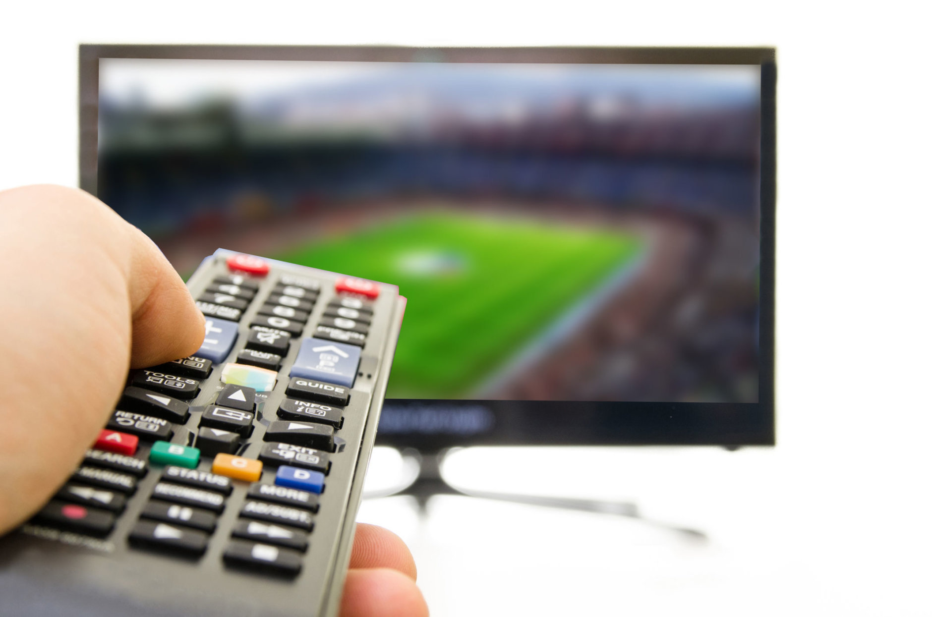 Armchair NFL fans with Verizon FiOS who are hoping to watch Sunday's Chargers-Ravens wild card game on Channel 9 should consider making alternative viewing plans. (Getty Images/iStockphoto/turk_stock_photographer)