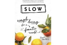 """This cover image released by Sourcebooks shows """"SLOW: Simple Living for a Frantic World"""" by Brooke McAlary. Consider a gift this holiday season that encourages a step back from chaos and stress of daily life. (AP Photo/Sourcebooks)"""