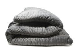 This photo shows the My Calm Blanket, a weighted blanket intended to promote high quality sleep. Weighted blankets play into the Slow Living movement, especially as gifts this holiday season. (My Calm Blanket via AP)
