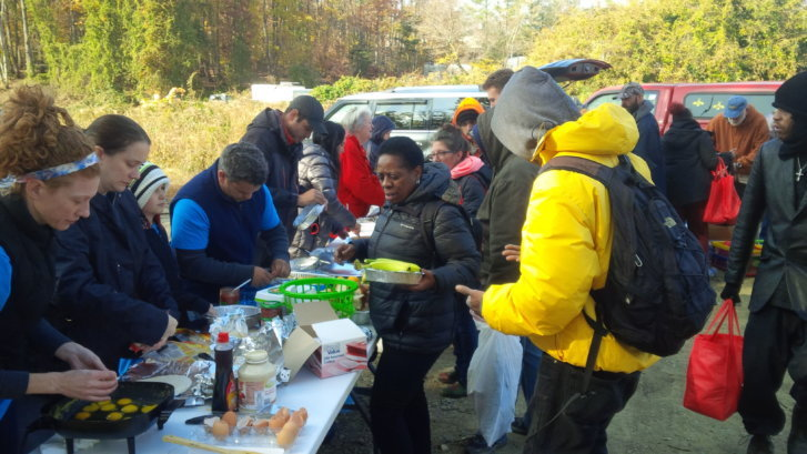 The 25th Project feeds the homeless in Northern Virginia and D.C. every Thanksgiving. Founder Jay Herriott says they are looking for food donations such as ...