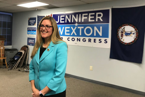 Wexton is eager to start work on Capitol Hill after winning in Virginia's 10th District