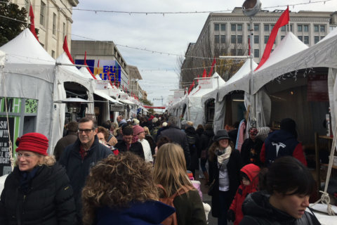 Downtown Holiday Market comes to life