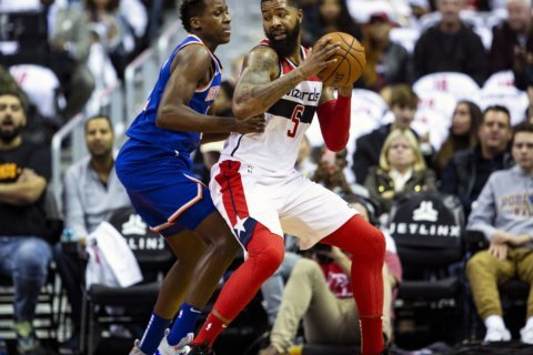 Wall, Beal help Wizards snap 5-game skid, top Knicks 108-95