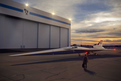 New experimental Lockheed supersonic jet starts production