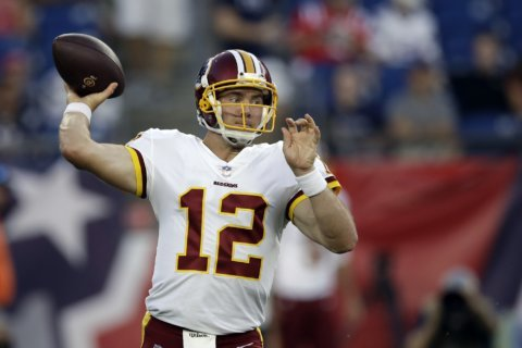 McCoy comes home to Texas, seeking Redskins win over Cowboys