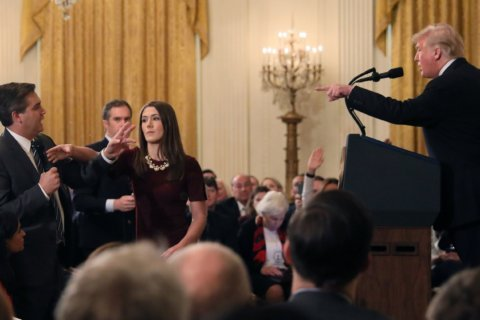 White House pulls CNN's Jim Acosta's pass after contentious news conference