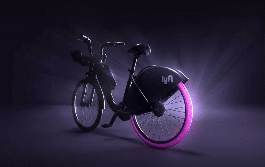 Lyft also unveiled a first look at its own Lyft Bikes, which it says it will launch in a handful of new cities across the country starting next year. (Courtesy Lyft)