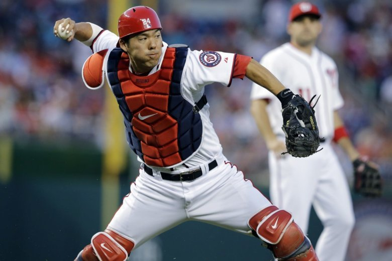 Kurt Suzuki, Nationals agree to $10M, 2-year deal