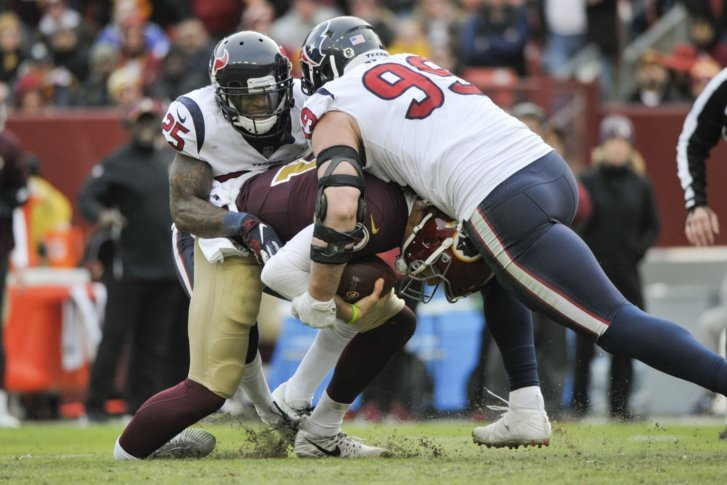 Westlake Legal Group Texans_Redskins_Football_00567-727x485 Tragedy and triumph: 2018's most notable local news stories top local news stories Stanley Cup Photo Galleries Makiyah Wilson Local News Jordan McNair Jaelynn Willey Great Mills High Schoo donald wuerl daron wint Capital Gazette amazon alex smith 2018 Election