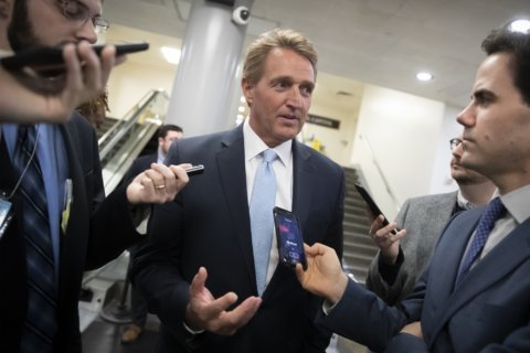 Sen. Jeff Flake vows to block votes on judges until Mueller protection bill approved