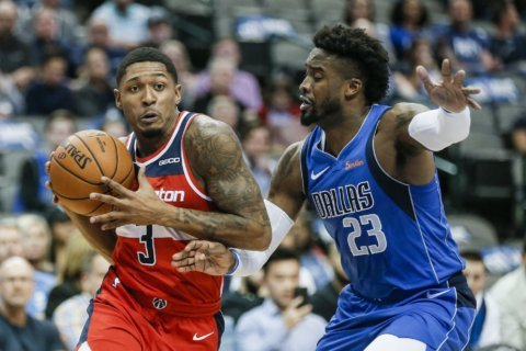 Doncic, Smith lead Mavs past Wizards 119-100 to stop skid