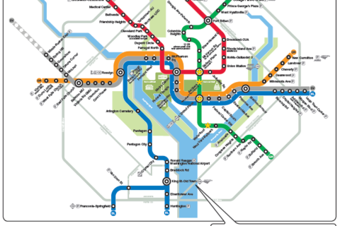 WTOP track work guide: Yellow Line shutdown from Nov. 26 to Dec. 9