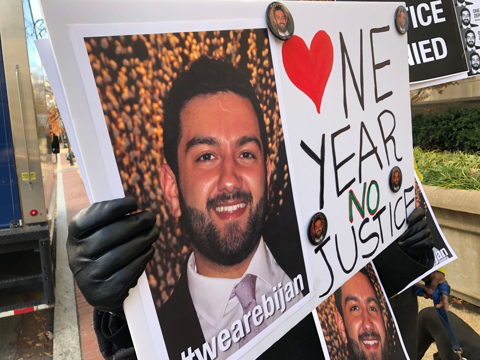 FILE —  Bijan Ghaisar, 25, was shot and killed by U.S. Park Police in November 2017. He was unarmed. (WTOP/Neal Augenstein)