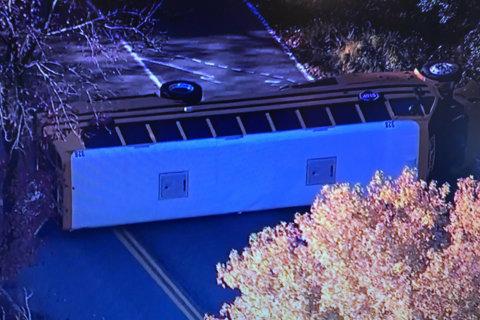 School bus crash in Anne Arundel leaves 3 hurt
