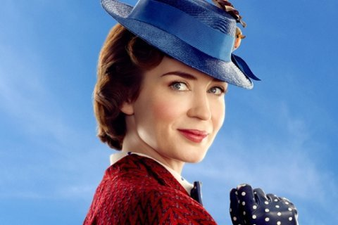 """'Mary Poppins Returns' star Emily Blunt felt """"a combination of panic and joy"""" when cast as the iconic nanny"""
