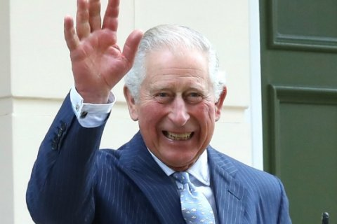 Magazine features new photo of Prince Louis with grandfather Prince Charles