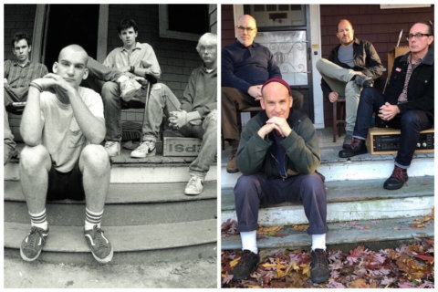 DC punk legends Minor Threat reunite — for iconic photo only