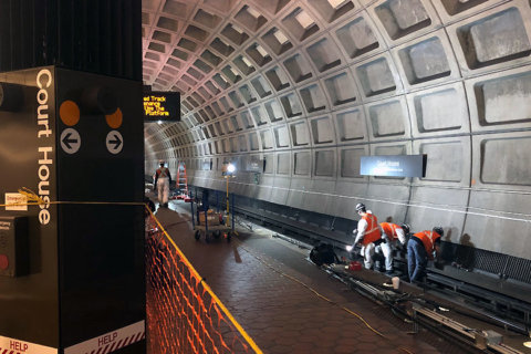 Metro considers changes to weekend track work