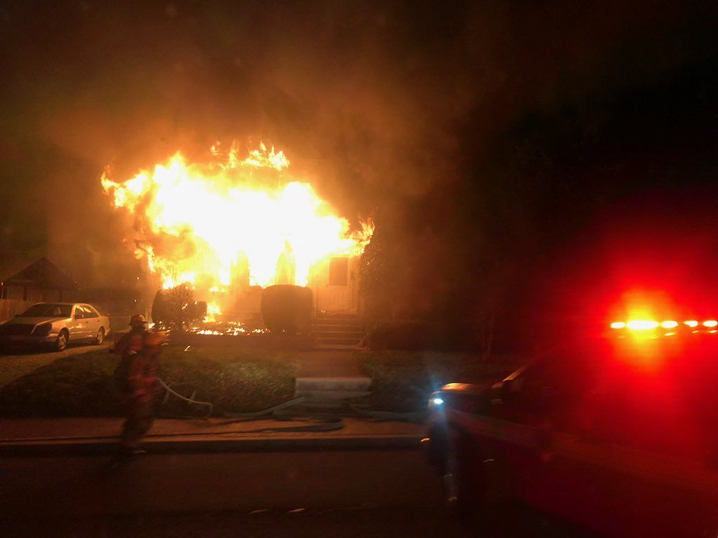 Western Avenue fire