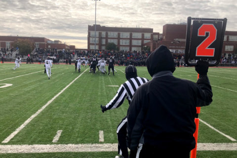 For many DC-area residents, Turkey Bowl is part of Thanksgiving festivities