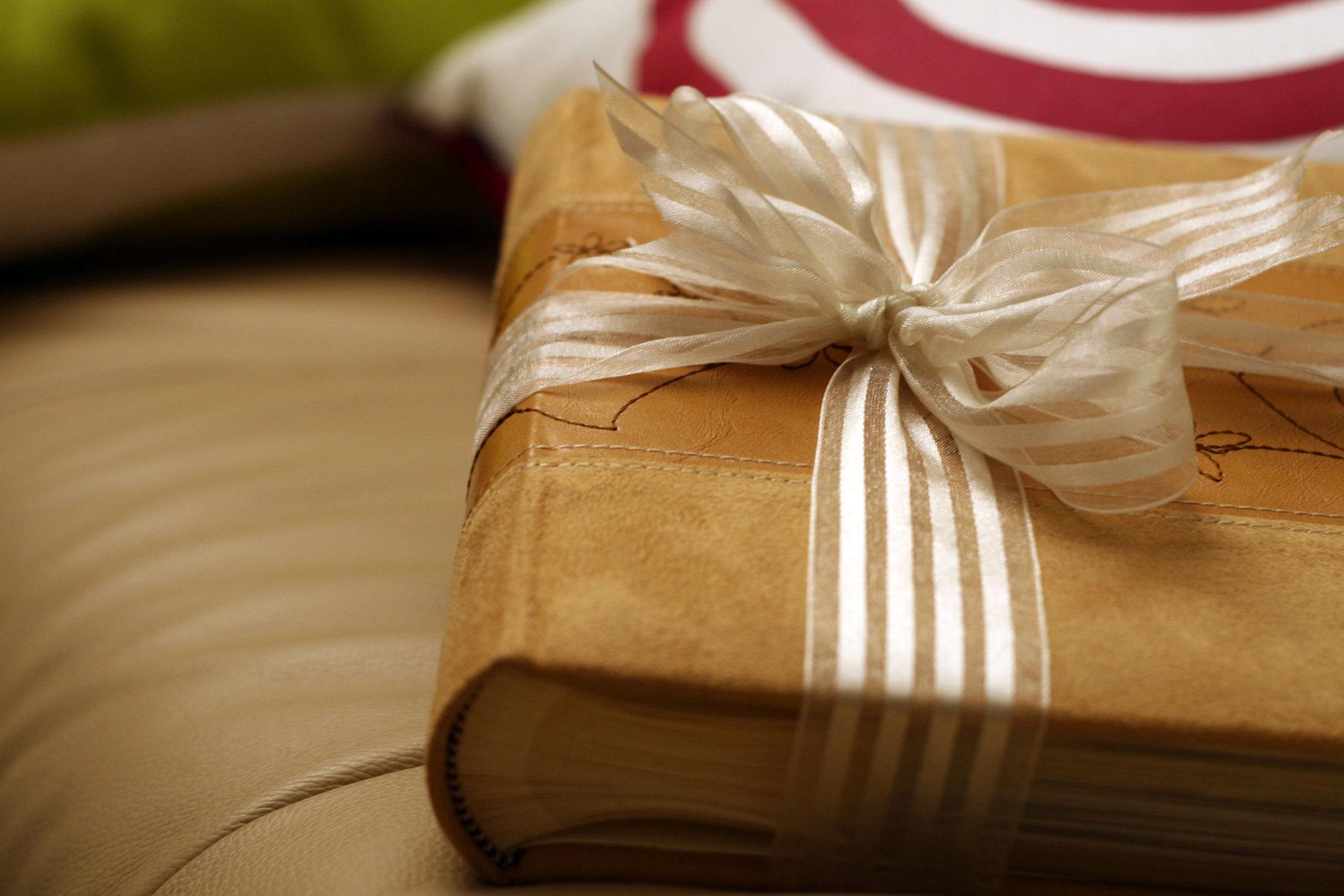 Photo album as a present