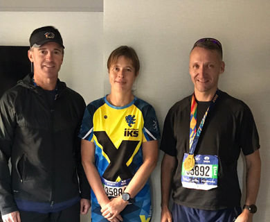 Secret Service agents join president of Estonia for New York City Marathon
