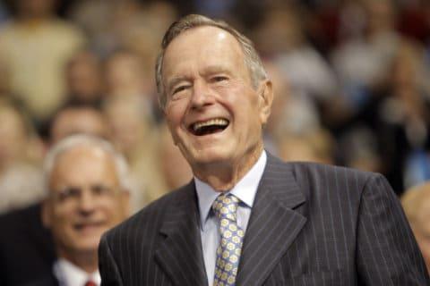 US Postal Service reveals new stamp honoring President George H.W. Bush