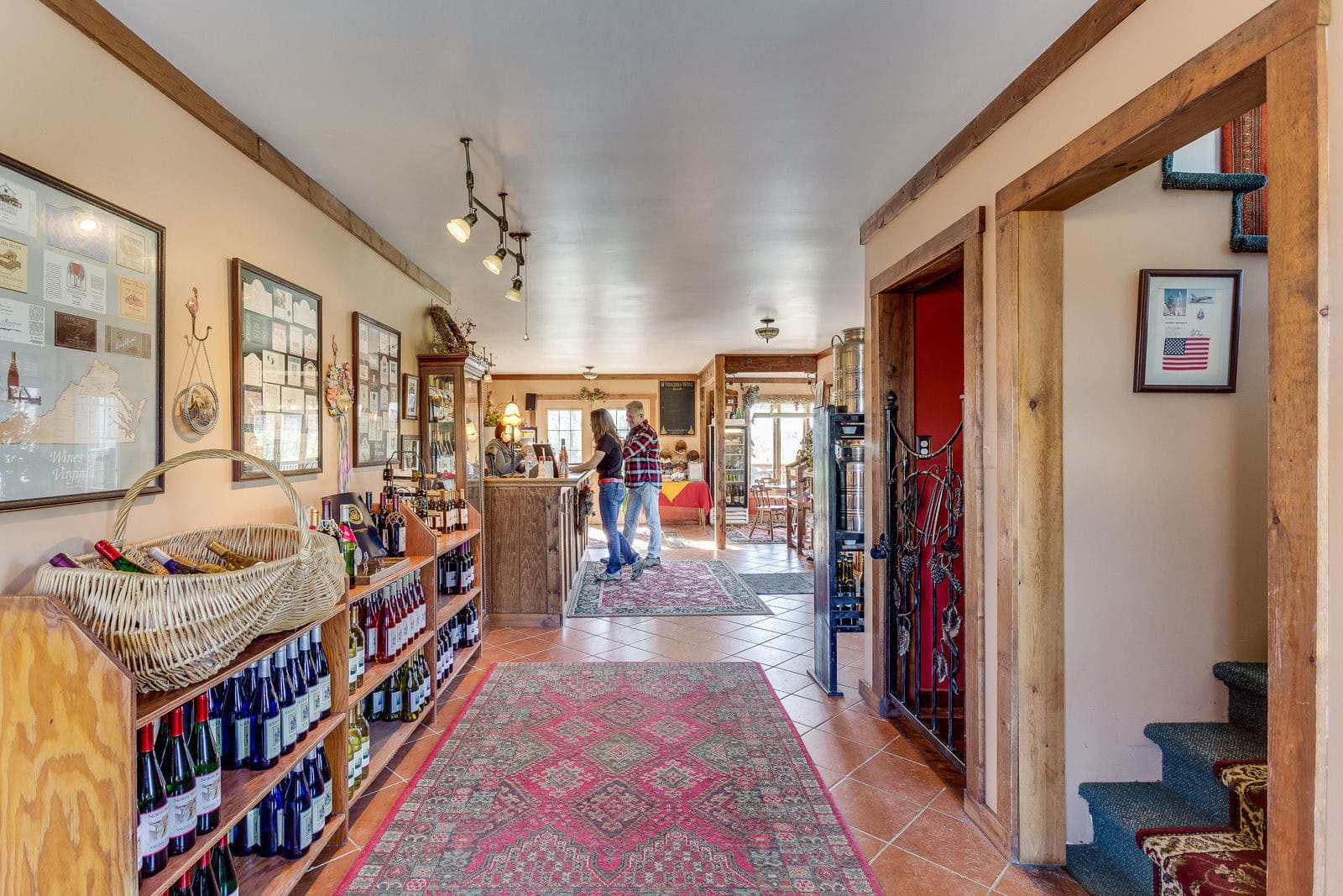 North Mountain Winery and Vineyard,a turnkey boutique vineyard and winery on 47 acres with 17 acres of producing vines and 10 varietals, is on the market for $2 million. (Courtesy Will Hinostroza, BTW Images/Keller Williams)