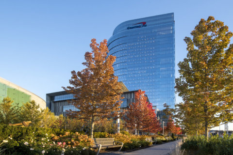 Capital One cuts ribbon on DC area's tallest office building