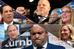 Election 2018 in the D.C., Maryland and Virginia. (AP, Courtesy Marc Elrich)