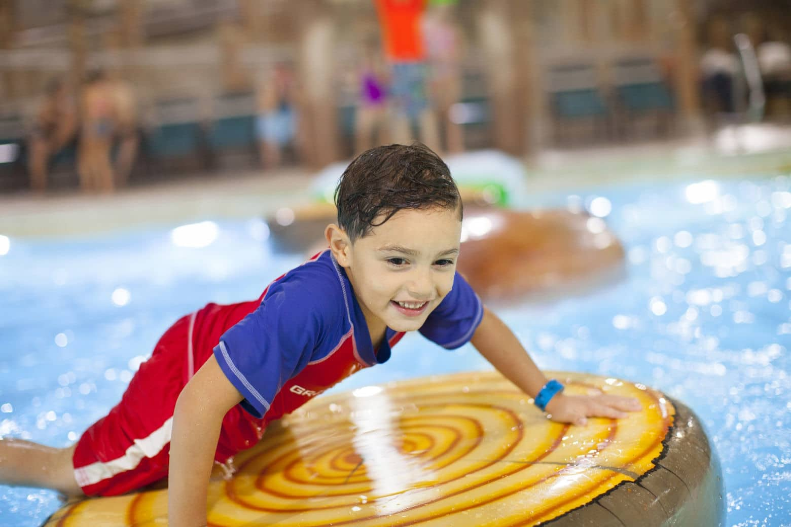 Chicago-based Great Wolf Resorts Inc., which operates 18 indoor and outdoor water parks in North America, including an indoor park in Williamsburg, Virginia, is considering a $200 million water park and lodge in Cecil County, Maryland. (Courtesy Great Wolf Resorts Inc.)