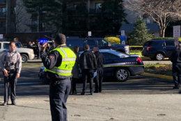 Two men are dead following a shooting in Falls Church. (WTOP/Kristi King)