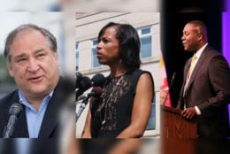 New county executives take charge. Marc Elrich in Montgomery County; Angela Alsobrooks in Prince George's County; and Calvin Ball in Howard County. (WTOP/Courtesy March Elrich/Courtesy Calvin Ball)
