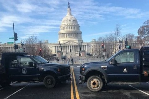 WATCH: Monday's arrival ceremony for former President George HW Bush at US Capitol