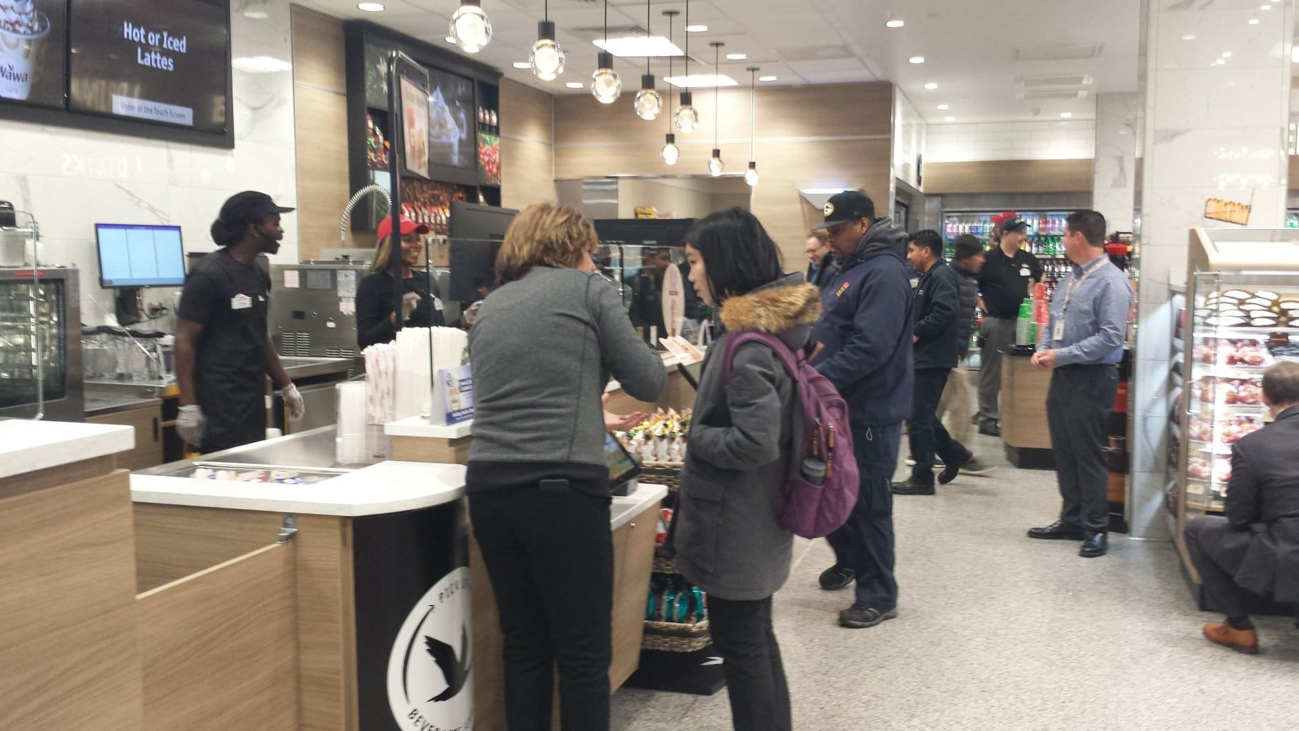 WAWA opened its second District location Thursday in Georgetown. (WTOP/Matt Ritter)