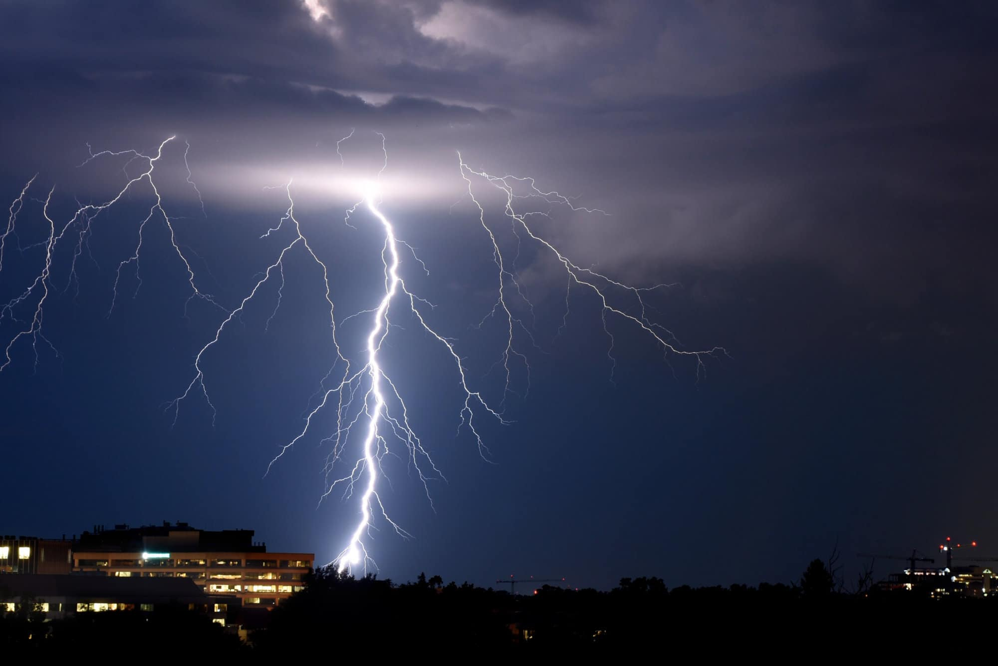 thunderstorm flooding dildine