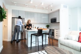 D.C.-based startup WhyHotel, which rents out units in newly-constructed apartment buildings as hotel stays until the landlord leases them, has raised funds for expansion and will add three new Washington area buildings to its room rental list. (Courtesy WhyHotel)
