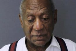 This image provided by the Montgomery County Correctional Facility shows Bill Cosby on Sept. 25, 2018, after he was sentenced to three to 10 years for sexual assault. (Montgomery County Correctional Facility via AP)