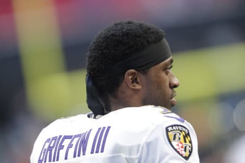 Griffin gets 2-year deal to return as Ravens backup QB