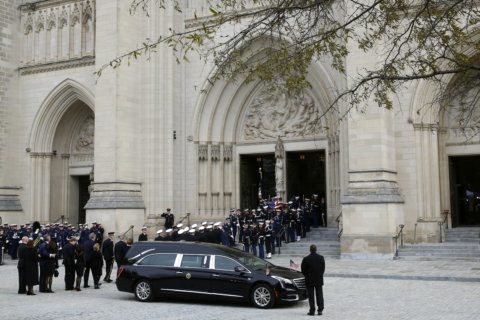 Expect delays and closures after Bush's funeral at National Cathedral