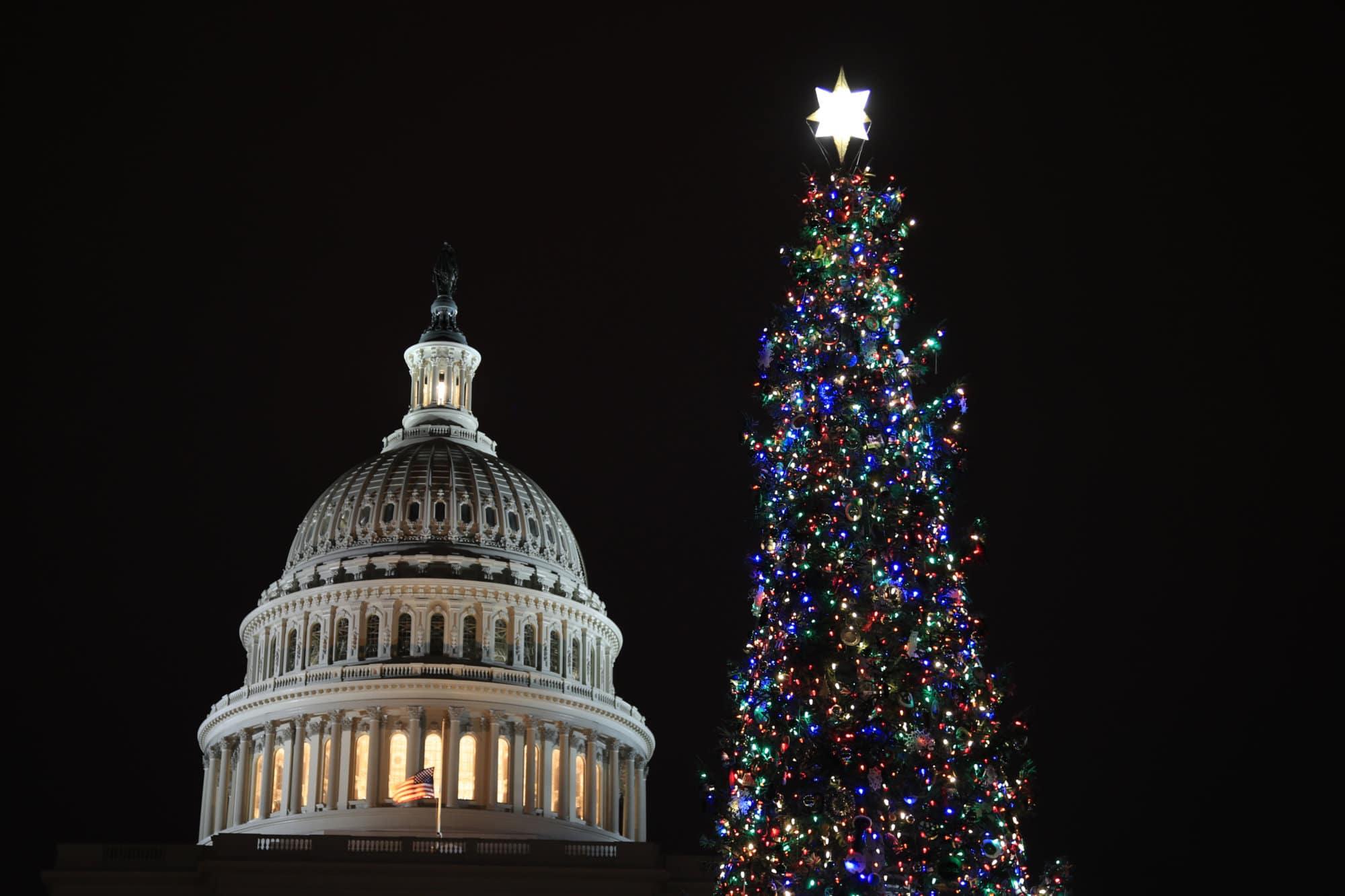 PHOTOS: 2018 US Capitol Christmas Tree Lighting