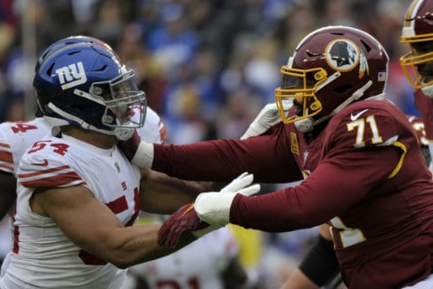 AP source: Trent Williams ends holdout, reports to Redskins