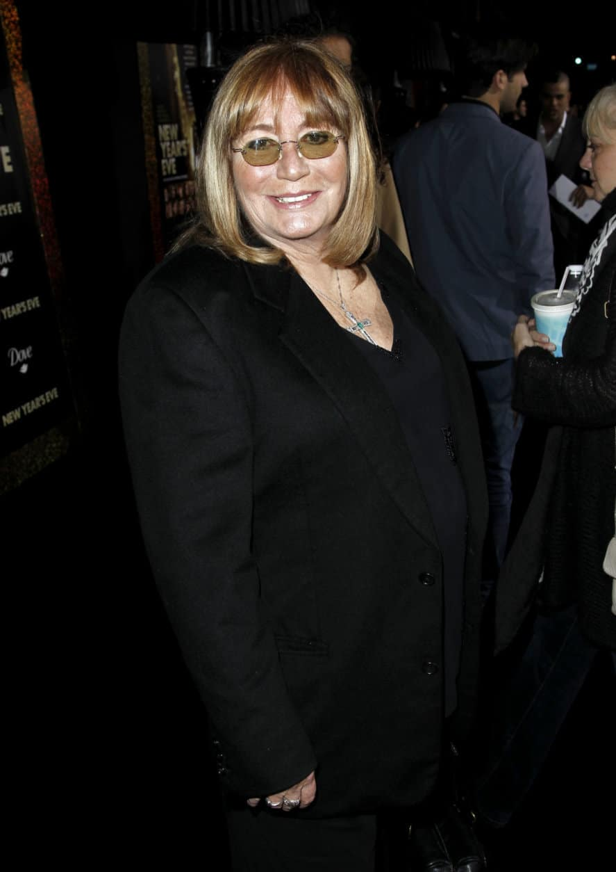 "FILE - In this Dec. 5, 2011 file photo, Penny Marshall arrives at the premiere of ""New Year's Eve"" in Los Angeles. Marshall died of complications from diabetes on Monday, Dec. 17, 2018, at her Hollywood Hills home. She was 75. (AP Photo/Matt Sayles, File)"