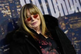 Penny Marshall attends the SNL 40th Anniversary Special at Rockefeller Plaza on Sunday, Feb. 15, 2015, in New York. (Photo by Evan Agostini/Invision/AP)