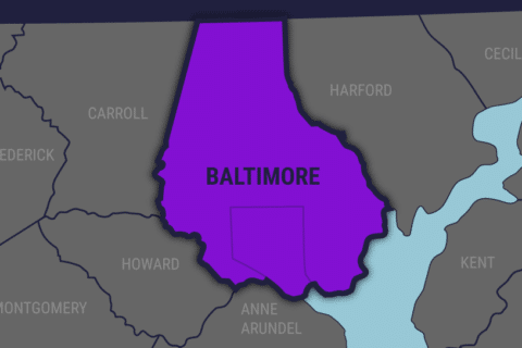 Woman dies after vehicle goes into river in Baltimore