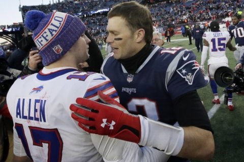 Pats beat Bills 24-12, earn 10th straight AFC East title