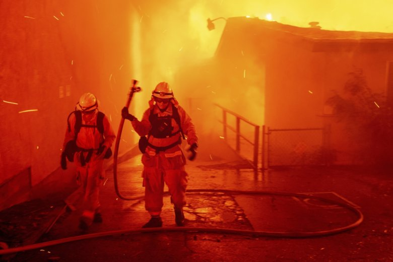 Firefighters Marching At Capitol >> Report Details Firefighters Harrowing Work In Paradise Wtop