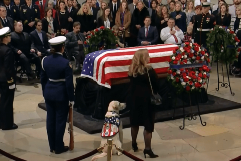 Everything you need to know about George HW Bush funeral and Capitol viewing