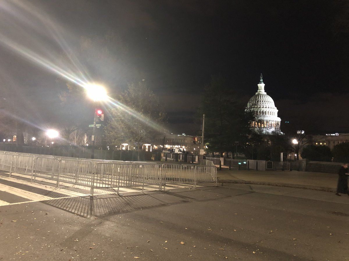 The Capitol rotunda was open for the public on Tuesday to view Bush lying in state. (WTOP/Melissa Howell)