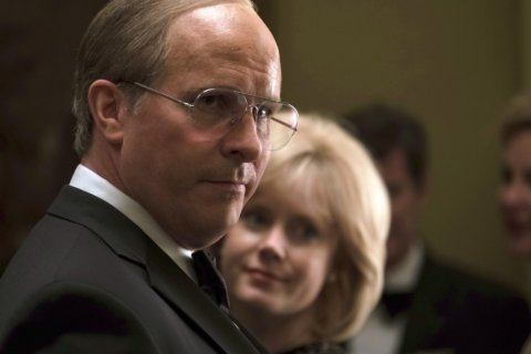 Movie Review: 'Vice' is exhausting, but Bale is something to behold as Cheney